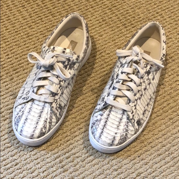 Michael Kors Shoes   Snakeskin Lace Up